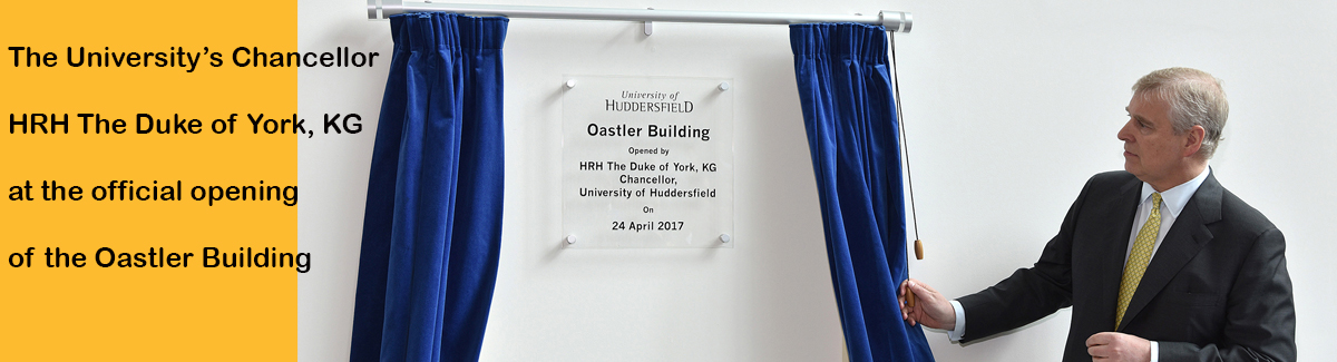 Opening of the Oastler Building by the Duke of York