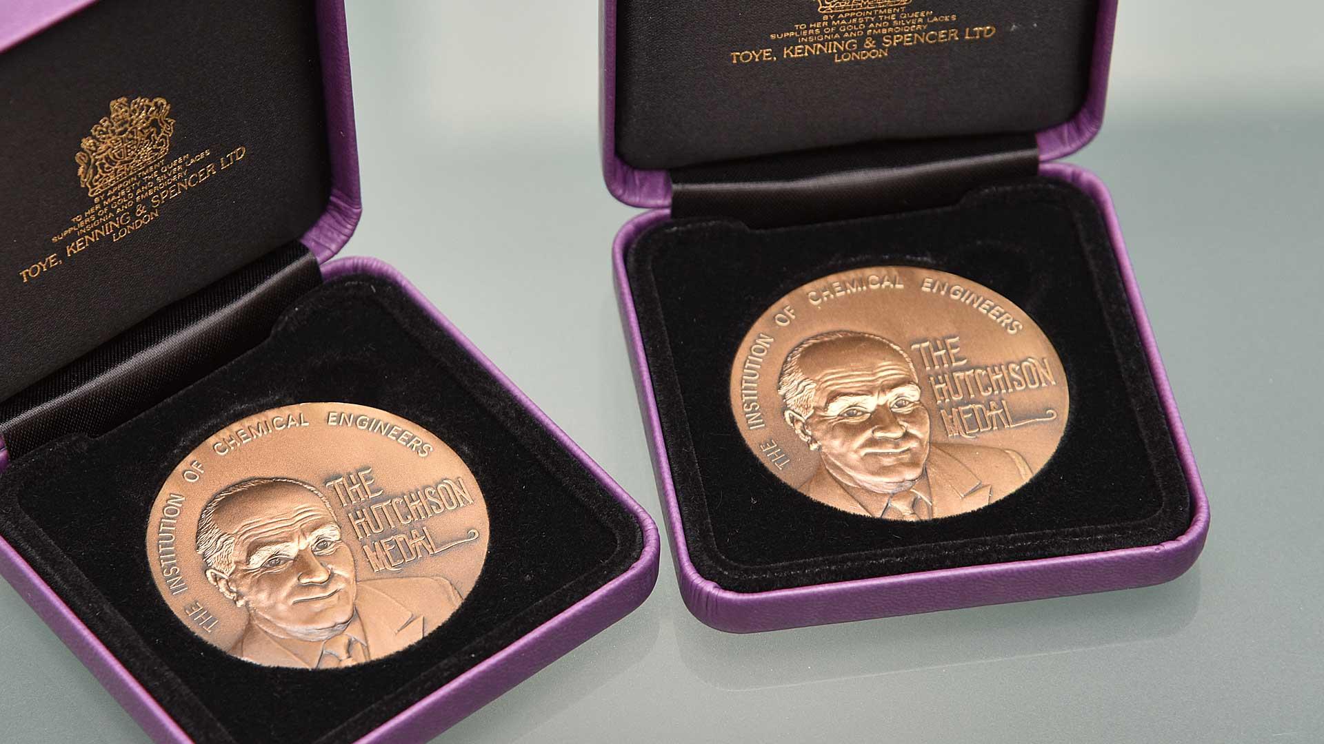 Hudds ChemEng duo win IChemE Hutchison Medal - University of