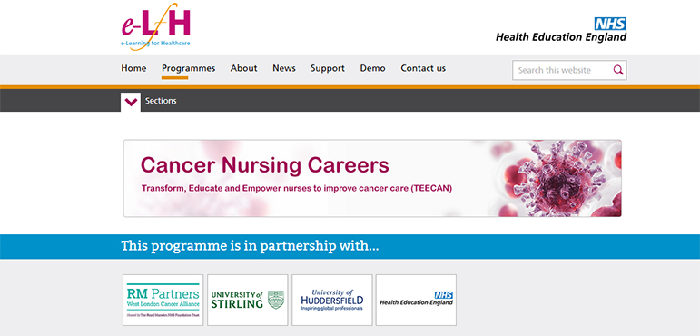 New e-learning programme will enhance cancer care