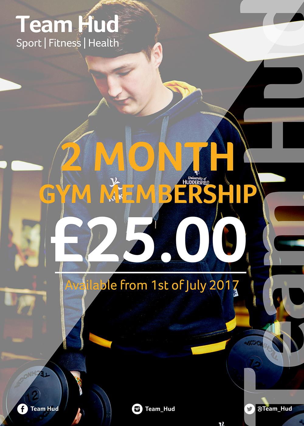 Team Hud Student Membership Offer - University of Huddersfield
