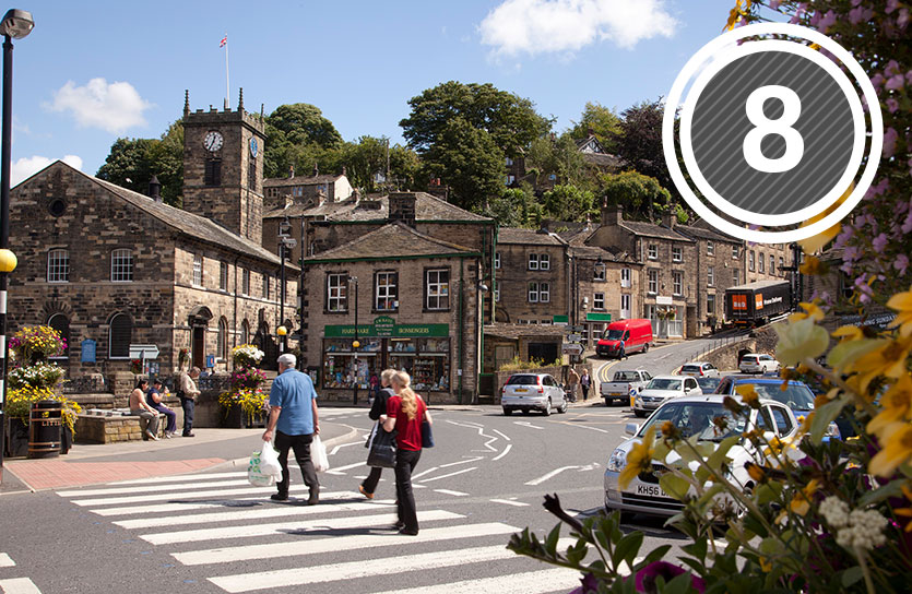Visit this picturesque town for museums and quirky shops for unique gifts, plus Holmfirth has a stunning Christmas fair every year.