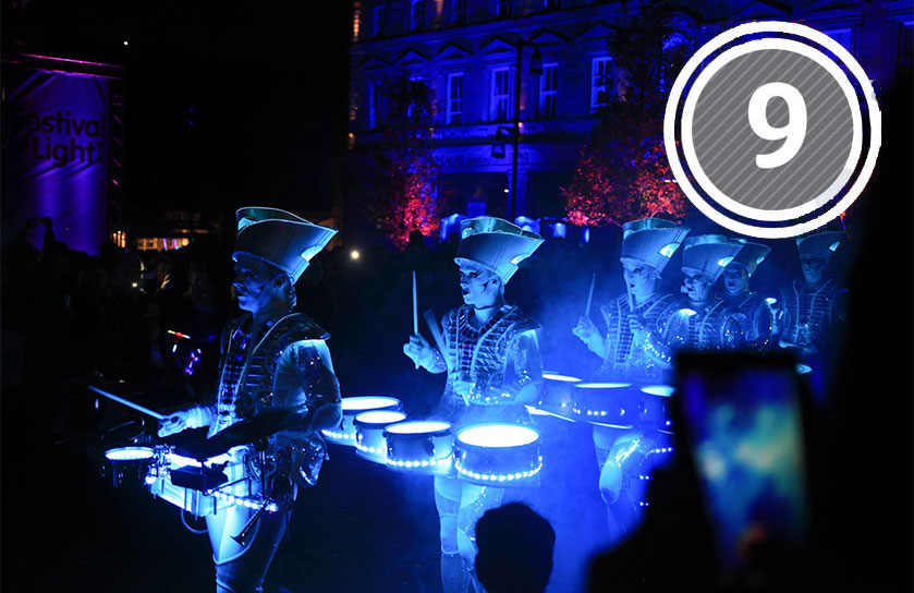 Festival of Light is held in  December each year and is a big night in any Huddersfield calendar